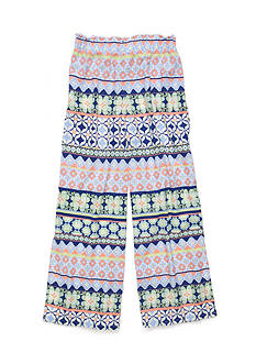 SEQUIN HEARTS girls Printed Soft Palazzo Pants Girls 7-16