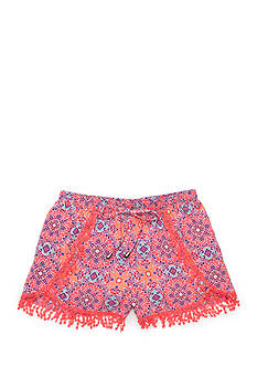 SEQUIN HEARTS girls Envelope Printed Soft Shorts Girls 7-16