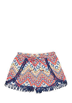 SEQUIN HEARTS girls Printed Lace Soft Shorts Girls 7-16
