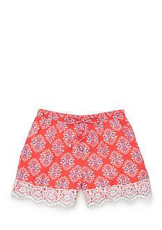 SEQUIN HEARTS girls Printed Lace Shorts Girls 7-16