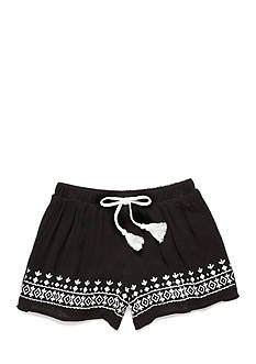 sequin hearts Border Trim Shorts Girls 7-16