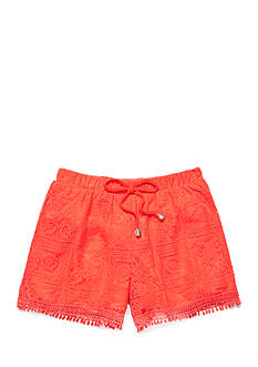 Sequin Hearts Solid Lace Shorts Girls 7-16