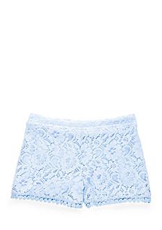SEQUIN HEARTS girls Lace Shorts Girls 7-16