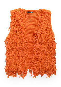 SEQUIN HEARTS girls Yarn Vest Girls 7-16