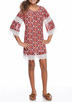 SEQUIN HEARTS girls Crochet Shift Dress Girls 7-16