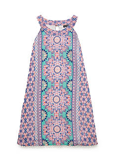 SEQUIN HEARTS girls Medallion Print Dress Girls 7-16