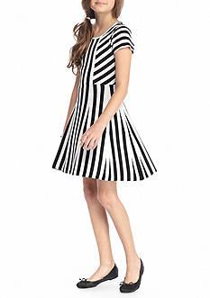 SEQUIN HEARTS girls Stripe Sweater Dress Girls 7-16