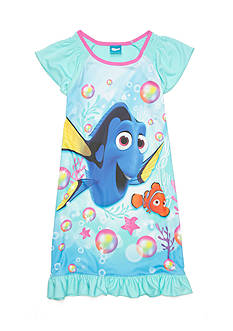 Disney Pixar Dory Night Gown Girls 4-16