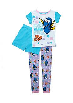 Disney Pixar Dory 'True Blue Friends' 3-Piece Pajama Set Girls 4-16