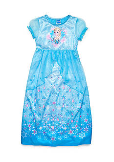 Disney Elsa Fantasy Nightgown Girls 4-8