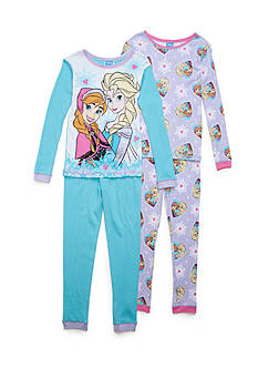 Disney 4-Piece Character Pajama Set Girls 4-16