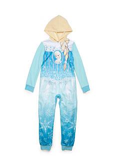 Disney 1-Piece Frozen Pajama Girls 4-16