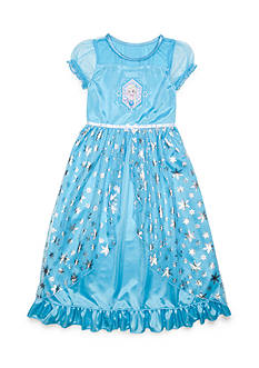 Disney® Elsa Fantasy Night Gown Girls 4-16