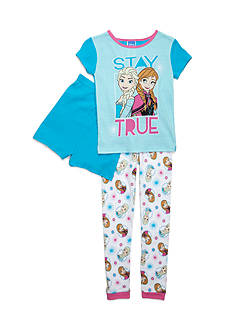 Disney Frozen 'Stay True' 3-Piece Pajama Set Girls 4-16