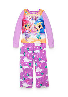 Nickelodeon™ 2-Piece Shimmer and Shine Pajama Set Girls 4-16