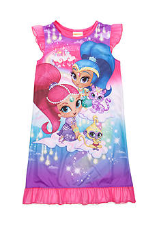 Nickelodeon™ Shimmer And Shine Nightgown Girls 4-16