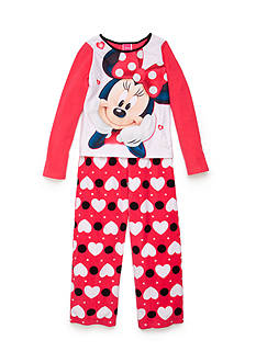 Disney Character Fleece Pajama Set Girls 4-16