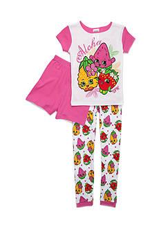 Shopkins™ 'Aloha' 3-Piece Pajama Set Girls 4-16