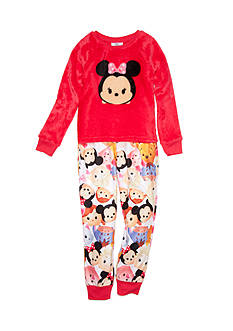 Disney 2-Piece Minnie Mouse Tsum Tsum Pajama Set Girls 4-16