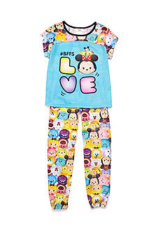 Disney Minnie Mouse® 'Tsum Tsum' Love Pajama Set Girls 4-10