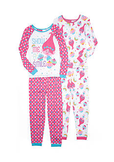 DreamWorks Trolls 4-Piece Pajama Set Girls 4-16
