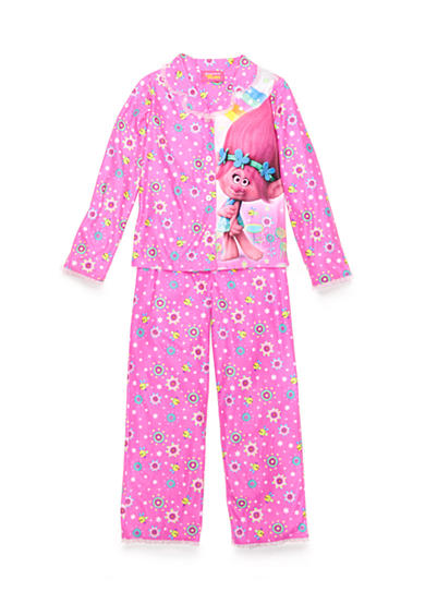 AME Trolls 2-Piece Poppy Pajama Set Girls 4-16