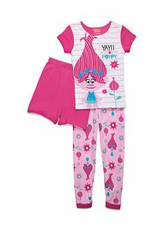 DreamWorks Trolls 3-Piece 'Yay! Poppy' Pajama Set Girls 4-16