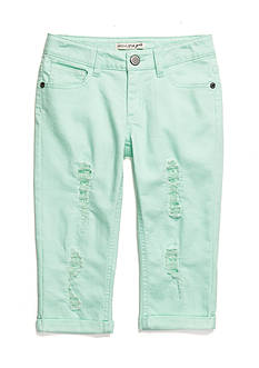 Imperial Star Distressed Crop Pants Girls 7-16