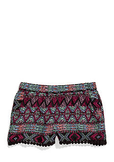 Imperial Star Challis Printed Tribal Shorts Girls 7-16