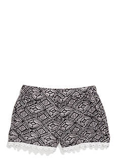 Imperial Star Challis Tribal Printed Shorts Girls 7-16