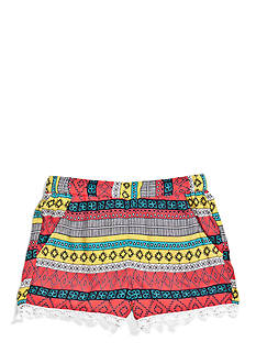 Imperial Star Challis Printed Shorts Girls 7-16