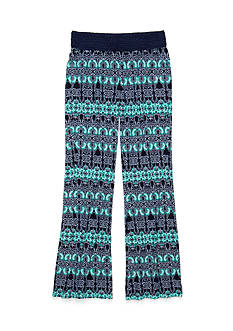 Imperial Star Soft Printed Knit Palazzo Pants Girls 7-16