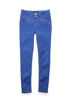 Imperial Star Double Button Skinny Jeans Girls 7-16