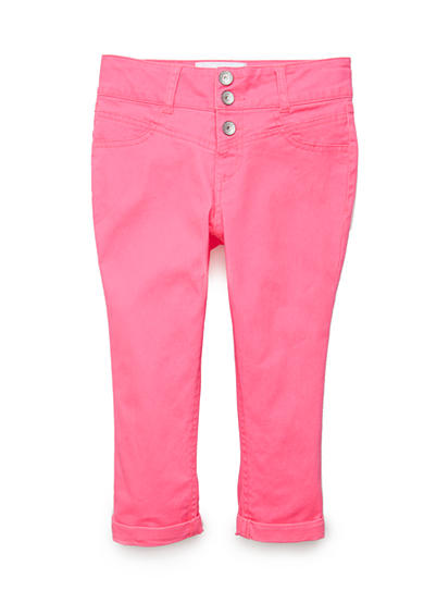 Imperial Star Colored Crop Pants Girls 7-16
