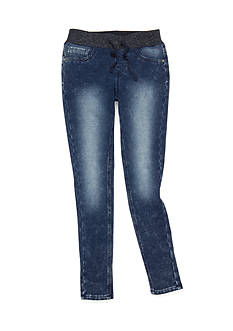Imperial Star Acid Wash Skinny Jeans Girls 7-16