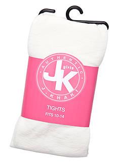 J Khaki™ Solid Tights Girls 2-14