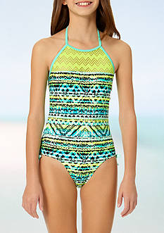 Angel Beach Tribal 1-Piece Girls 7-16