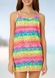 Angel Beach Sonic Ombre Cover Up Girls 7-16