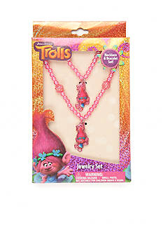 DreamWorks Trolls Trolls 2-Piece Jewelry Box Set Girls