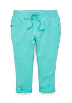 JK Indigo Knit Capri Pants Girls 7-16
