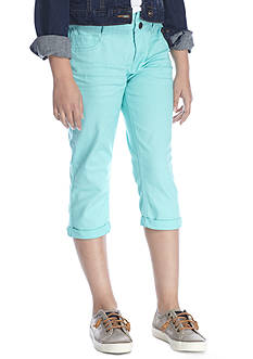 JK Indigo Double Roll Crop Pant Girls 7-16