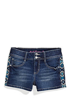 Red Camel Girls® Jean Short with Embroidered Trim Girls 7-16