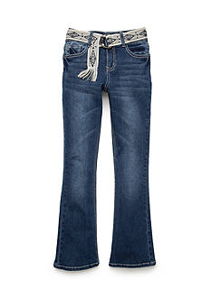 Red Camel® Flare Jeans with Belt Girls 7-16