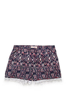 Red Camel® Ikat Print Soft Shorts Girls 7-16