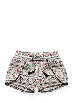 Red Camel® Tribal Printed Crinkle Shorts Girls 7-16
