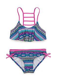 J. Khaki 2-Piece Arrowhead Bikini Girls 7-16