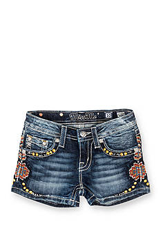 Miss Me Tribal Embellished Shorts Girls 7-16