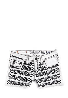 Miss Me Girls Tribal Embroidered Shorts Girls 7-16