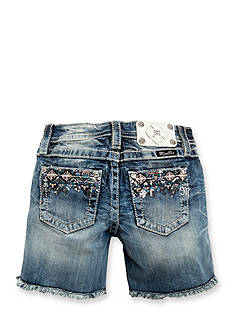 Miss Me Girls Tribal Embroidered Jean Shorts Girls 7-16