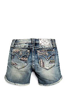 Miss Me Girls Tribal Embroidered Jewel Shorts Girls 7-16